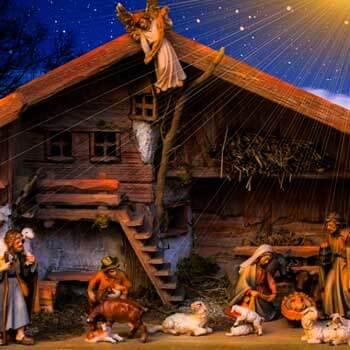 Belén navideño-Tradiciones españolas