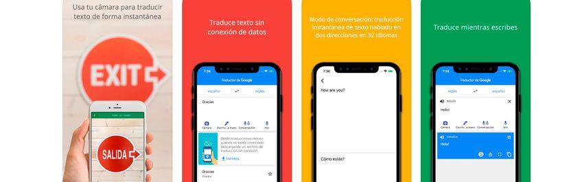 Aprende español con el traductor de google